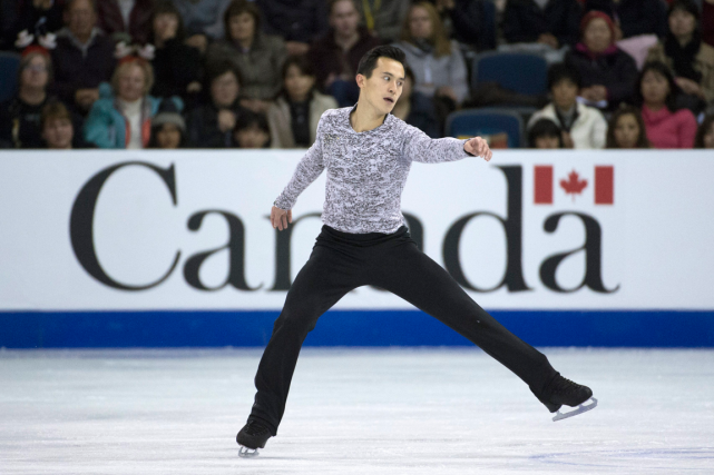 Patrick Chan... (Photo Jonathan Hayward, PC)