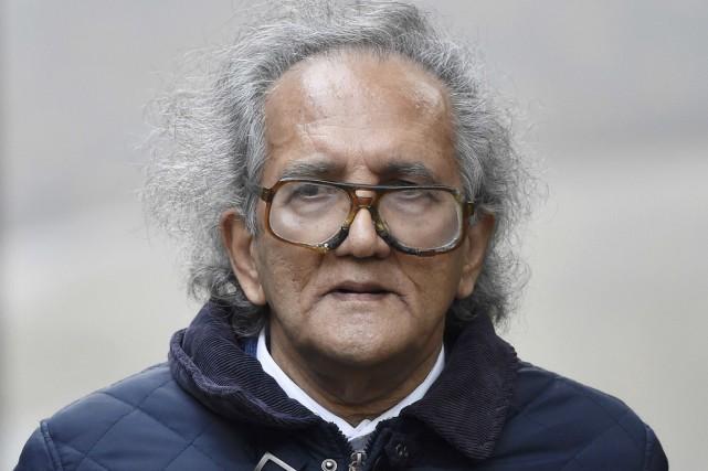 Aravindan Balakrishnan, 75 ans, a nié les sept... (PHOTO TOBY MELVILLE, REUTERS)