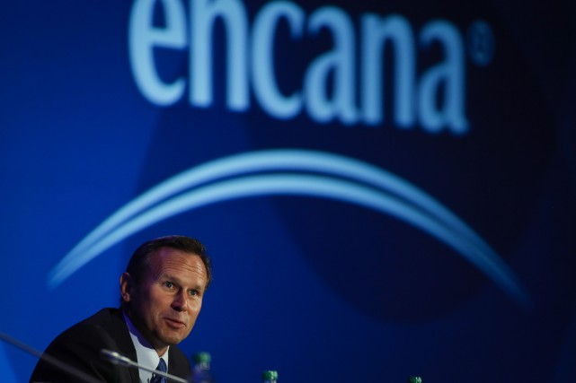 Le titre d'Encana est en progression de 46%... (PHOTO JEFF MCINTOSH, ARCHIVES LA PRESSE CANADIENNE)