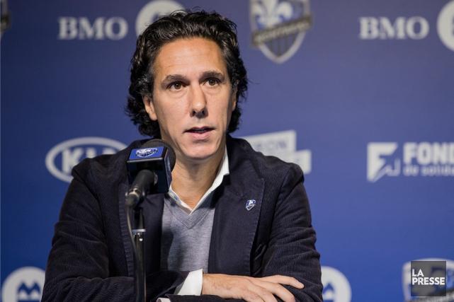L'entraîneur-chef par intérim de l'Impact, Mauro Biello, a... (Photo Edouard Plante-Fréchette, La Presse)
