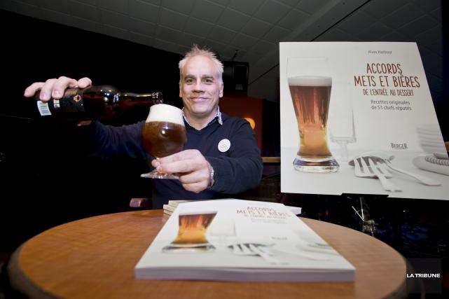 Dans son livre Accords mets et bières de... (Imacom, Jessica Garneau)