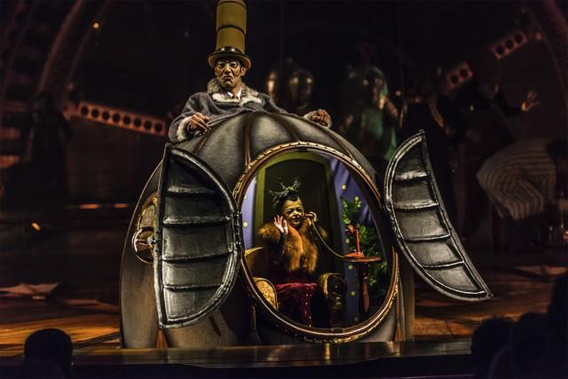 Kurios, l'un des trois spectacles du Cirque du... (AP, Martin Girard)