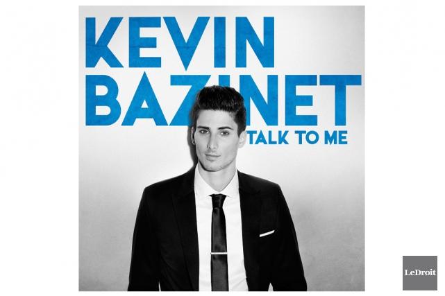 La pochette du nouvel album de Kevin Bazinet,Talk... (Le Droit)