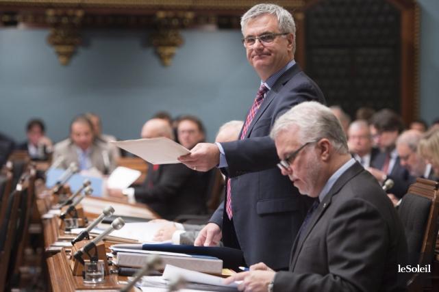 Le leader parlementaire du gouvernement, Jean-Marc Fournier, a... (Photothèque Le Soleil)