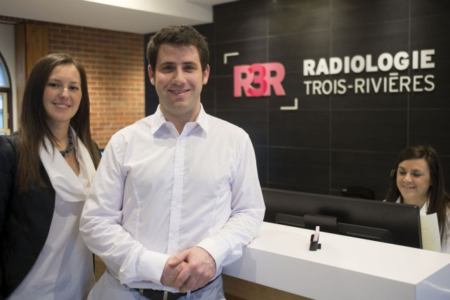 Mylène Giroux et le docteur Philippe Nolet-Lévesque sont... (Stéphane Lessard)