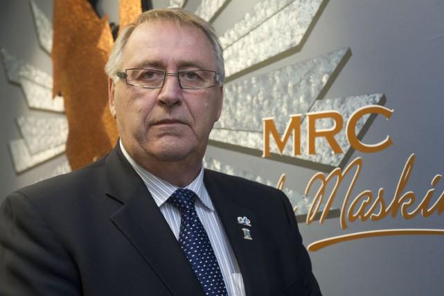 Robert Lalonde est le préfet de la MRC... (Stéphane Lessard)