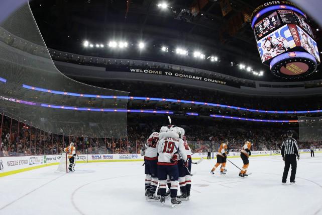 Les Flyers ont été limités à 20 tirs... (Photo Matt Slocum, AP)