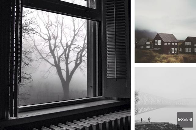 Grâce aux fidèles de notre défi photo sur Instagram, la grisaille de l'automne... (Infographie Le Soleil)