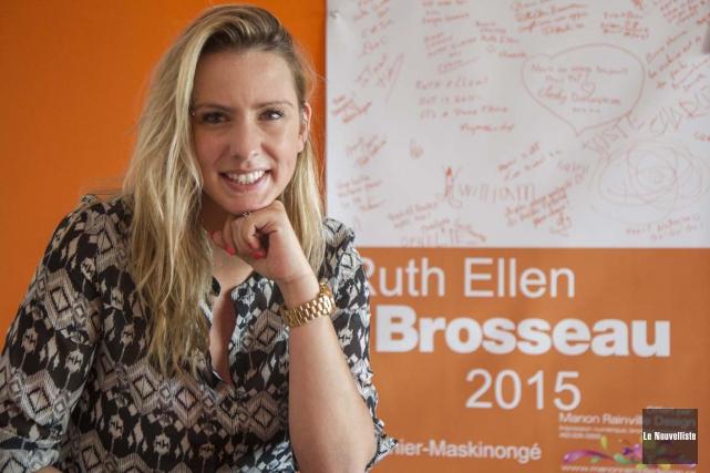 Ruth Ellen Brosseau... (Le Nouvelliste)