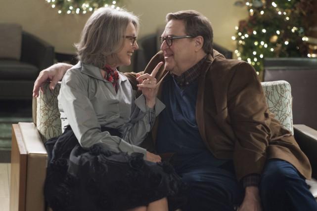 Mariés depuis 40 ans, Charlotte (Diane Keaton) et... (Fournie par les Films Séville)