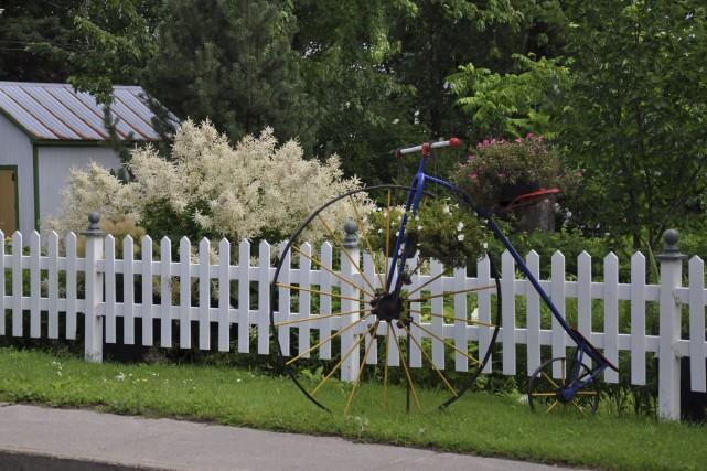 Quatre fleurons pour Saint-Laurent, Île-d'Orléans... (Fournie par les Fleurons du Québec)