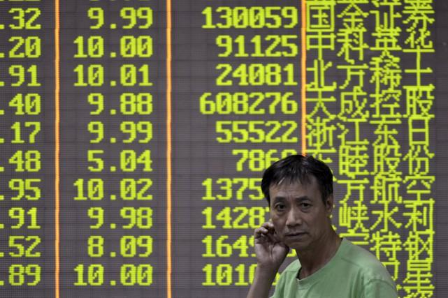 Les Bourses de Shanghai et de Shenzhen vont... (PHOTO ARCHIVES REUTERS)