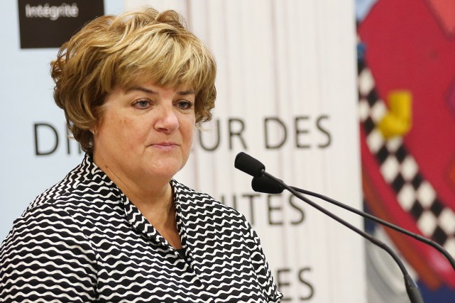 La directrice des poursuites criminelles et pénales, Me Annick... (PHOTO Martin Chamberland, ARCHIVES LA PRESSE)