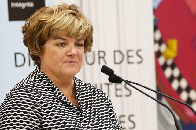 La directrice des poursuites criminelles et pénales,Me Annick... (PHOTOMartin Chamberland, ARCHIVES LA PRESSE)