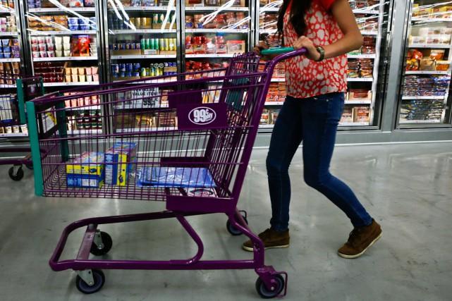 Le secteur de l'alimentation a connu unebaisse de... (PHOTO PATRICK T. FALLON, ARCHIVES REUTERS)