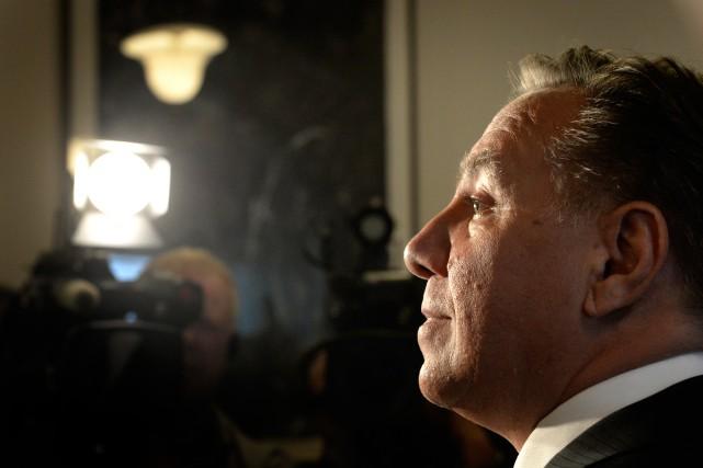 François Legault a été victime des événements, croit... (PHOTO BERNARD BRAULT, ARCHIVES LA PRESSE)