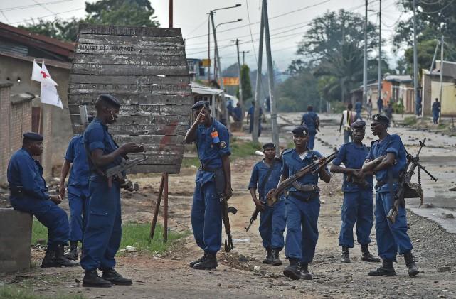 Au Burundi, un dérapage ethnique n'est pas exclu,... (PHOTOCARL DE SOUZA, ARCHIVES AGENCE FRANCE-PRESSE)