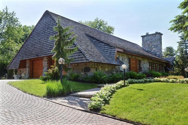 Ce qui avait plu à Jacques Bourgie lorsqu'il a découvert cette maison, c'est... (Photo fournie par Re/Max)