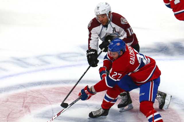 Alex Galchenyuk et Jarome Iginla... (Photo archives USA Today)