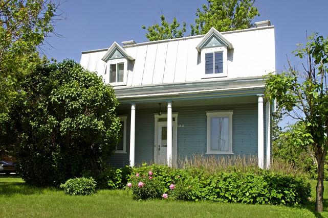 Lauréate du concours2003 de l'OPAM, cette maison, construite... (PHOTO FOURNIE PAR L'OPAM)