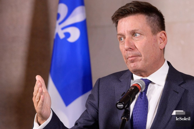 Le ministre Pierre Moreau est ouvert à ce... (Photothèque Le Soleil, Jean-Marie Villeneuve)