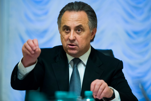 Le ministre russe des Sports, Vitali Mutko.... (Photo Ivan Sekretarev, archives Associated Press)
