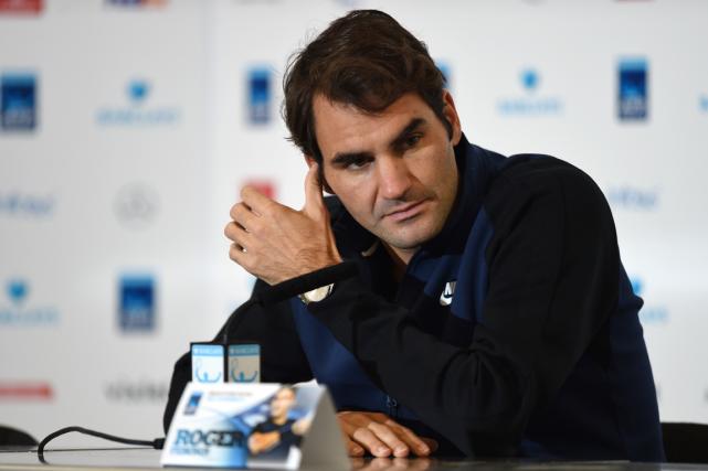 Roger Federer ditavoir subi seulement cinq contrôles antidopage... (Photo Tony O'Brien, Reuters)