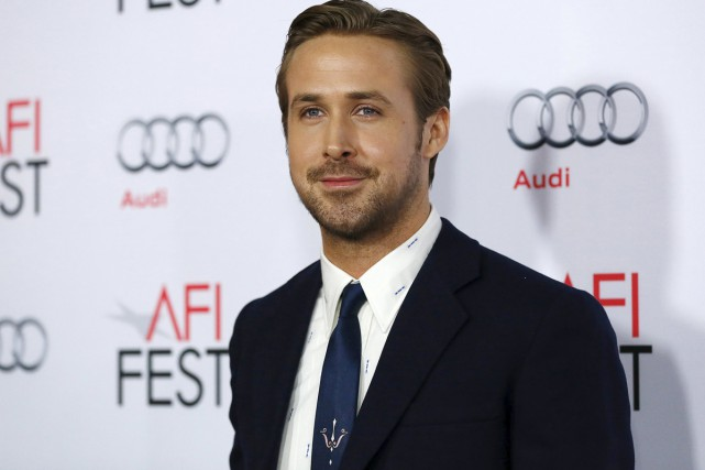 Ryan Gosling, l'une des vedettes du film The... (PHOTO REUTERS)