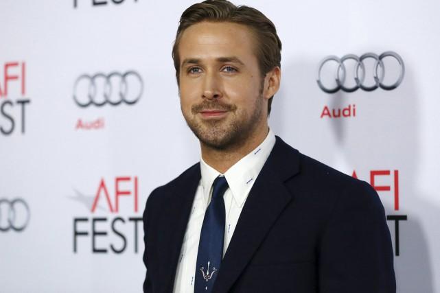 Ryan Gosling, l'une des vedettes du film The... (PHOTO REUTERS)