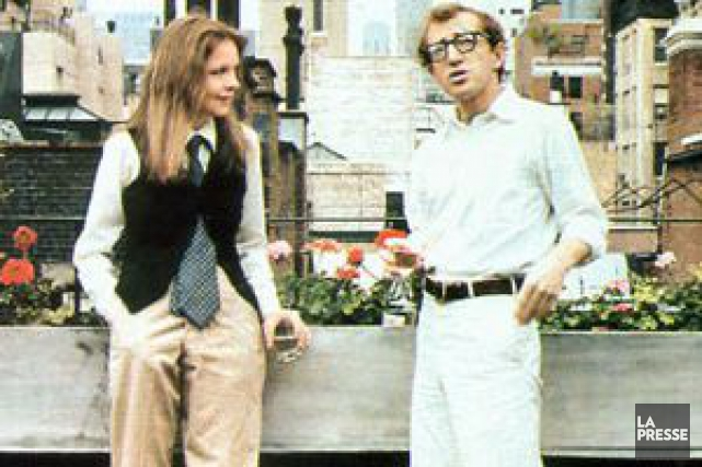 Une scène de Annie Hall.... (PHOTO ARCHIVES LA PRESSE)