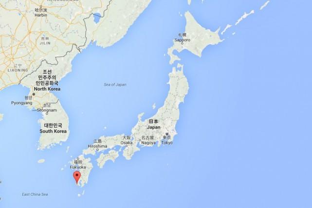 Selon l'USGS, l'épicentre se trouvait à environ 160... (Image Google Maps)