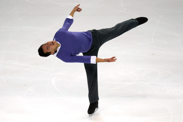 Patrick Chan... (Photo Nicolas Tucat, AFP)