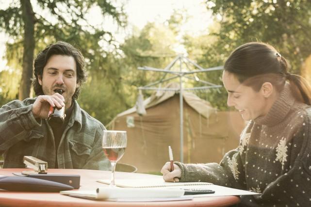 David (Maxim Gaudette) et Marie (Valérie Cadieux) forment... (Photo Films Séville)