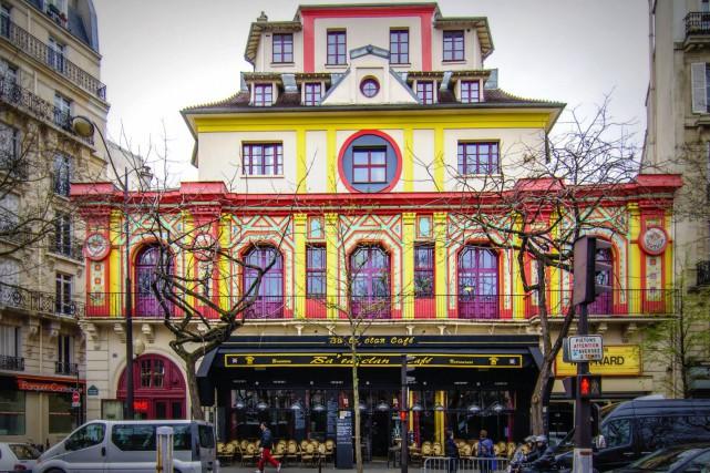 La salle du Bataclan, à Paris... (Photo tirée de l'internet)