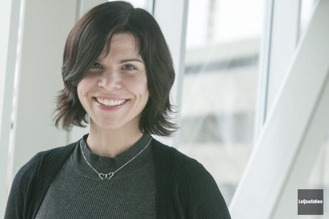 Linda Paquette, professeure-chercheuse en psychologie, se spécialise en... (Photo Le Quotidien, Michel Tremblay)