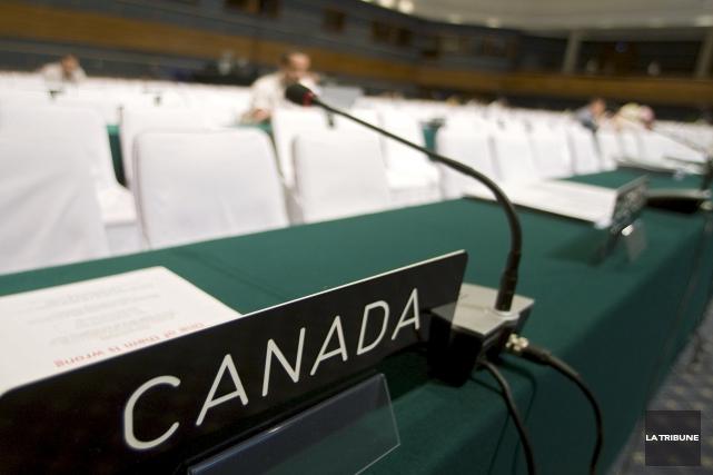 ÉDITORIAL / En affirmant que « le Canada est de retour dans le monde », le... (Archives, La Tribune)