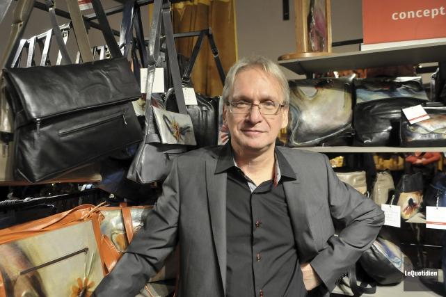 Gilles Bergeron en est à sa 35e édition... (Photo Le Quotidien, Rocket Lavoie)