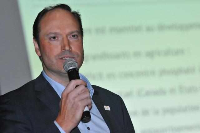 Jean-Sébastien David, chef des opérations d'Arianne Phosphate...