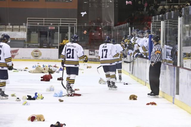 Quelques centaines d'oursons, de lapins et autres bibittes... (photo Julie Catudal)