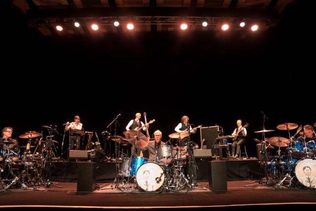 King Crimson refusait que les médias prennent des... (Fournie par King Crimson)