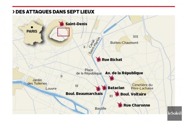 Saint-Denis(Stade de France) (Infographie Le Soleil)