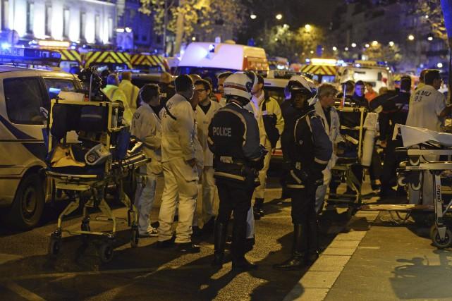 Le 13 novembre, un commando de trois djihadiste... (AFP, Miguel Medina)