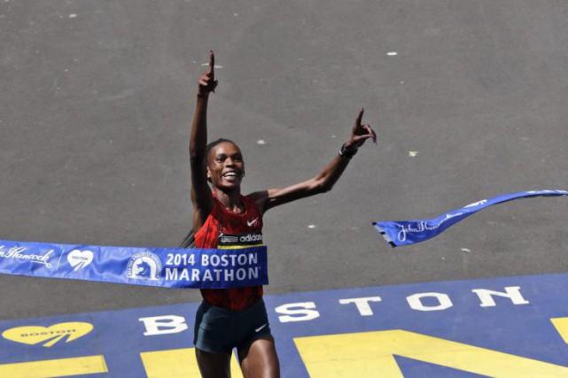 La vedette kényane du marathon Rita Jeptoo a... (PHOTO CHARLES KRUPA, ARCHIVES AP)
