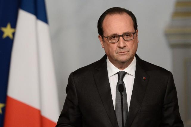 Le président français, François Hollande,a déclaré samedi que... (AFP, Stephane de Sakutin)