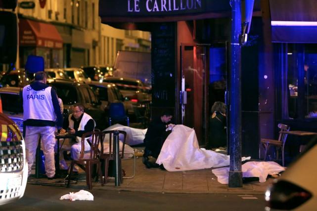 La police française a dit que ce document... (AP, Thibault Camus)