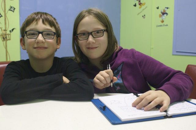 Lucas Tremblay Duchesne et Marie-Hélène Corneau croient qu'ils... (Photo Le Progrès-Dimanche, Mélissa Viau)