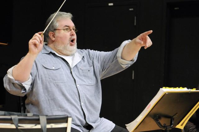 Le directeur de l'Opéra du Saguenay-Lac-Saint-Jean, Alexandre Malenfant,... (Archives Le Progrès-Dimanche)