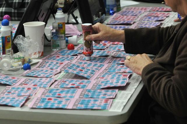 Les gens pourront de nouveau jouer au bingo en réseau au... (Archives Le Progrès-Dimanche)