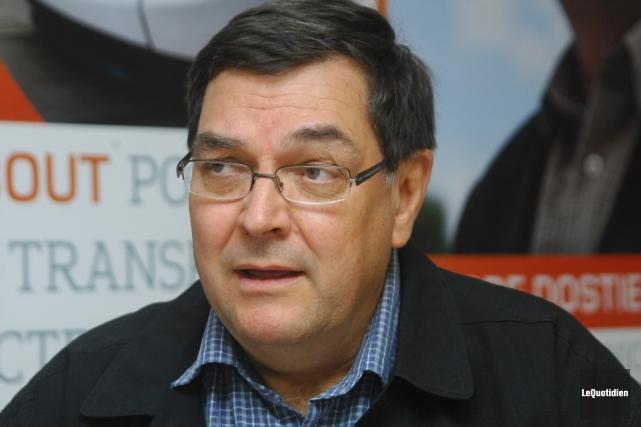 Le candidat de Québec Solidaire dans Chicoutimi, Pierre... (Archives Le Quotidien)