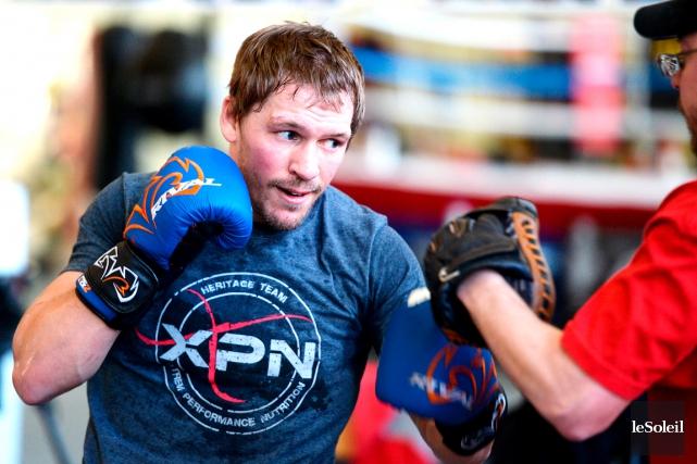 Le boxeur de 31 ans a joué le... (Photothèque Le Soleil, Erick Labbé)
